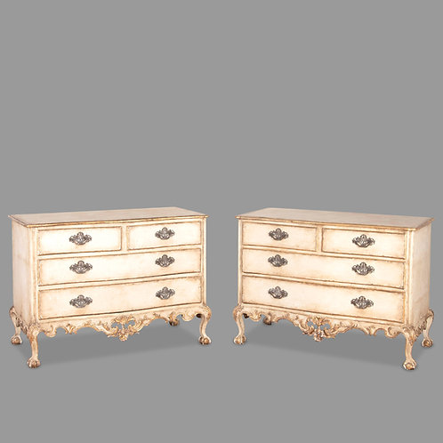 18th Century Pair of Portuguese Commodes