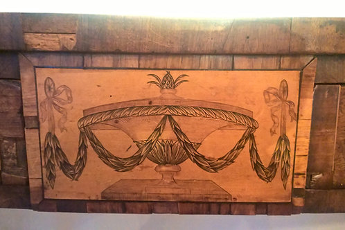Geo III inlaid serving table