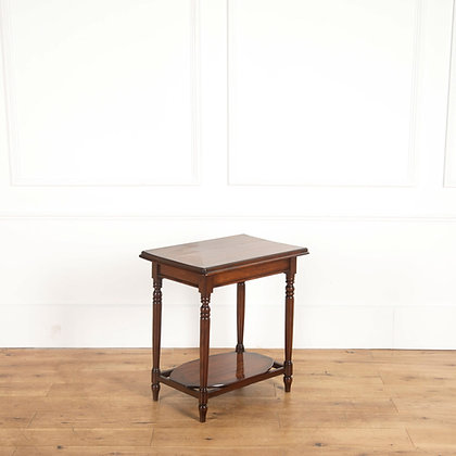 An C19th Solid Yewwood Occasional Table