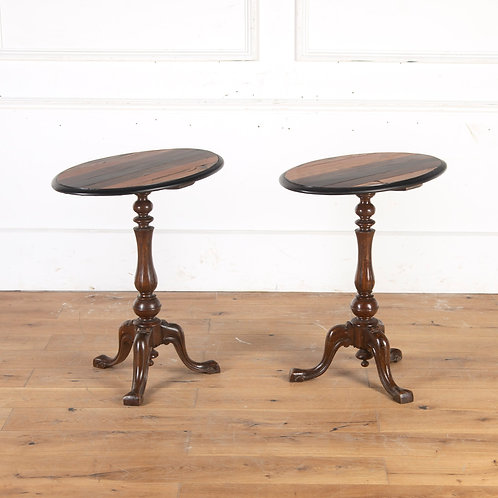 Pair of Anglo-Indian Occasional Tables