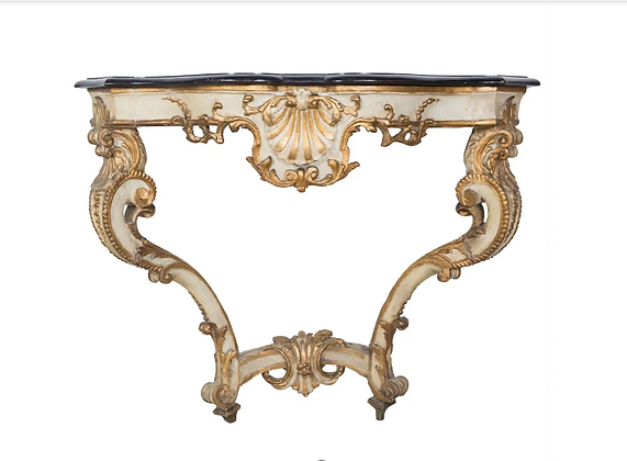 Early C19th French Decorated Console Table