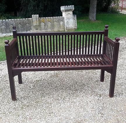 Rare Early C20th Heals Garden Bench