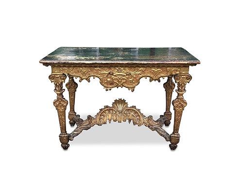 Italian 18th Century Giltwood Table
