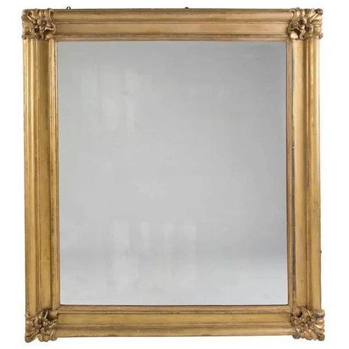 Large Regency Giltwood Overmantle Mirror