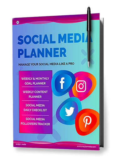 social media planner - Downloadable Cont
