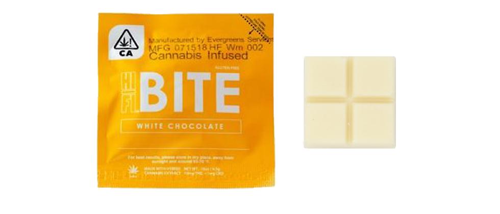 10mg White Chocolate Bites | Hifi
