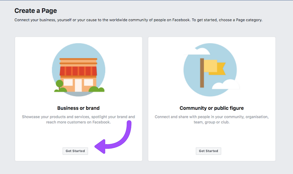 Before utilizing Ads Manager, you first should create a Facebook page for your company. This step is important as it can help to improve your brand's social strategy. Apart from gaining access to tools and perks like Facebook ads and Analytics, you'd be able to use your profile to schedule your posts on Facebook.