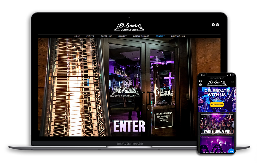 El Santo Ultralounge is a Latin based nightclub located just a few blocks from Sacramento Kings NBA arena. El Santo Ultralounge provides an unparalleled upscale nightclub experience every weekend playing Top 40, Reggeaton music, and regularly featuring live Bandas once a week. El Santo Ultralounge shares its space during daytime with their partner restaurant El Santo Cantina.