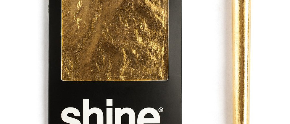 24k Gold King Size Rolling Paper | Shine