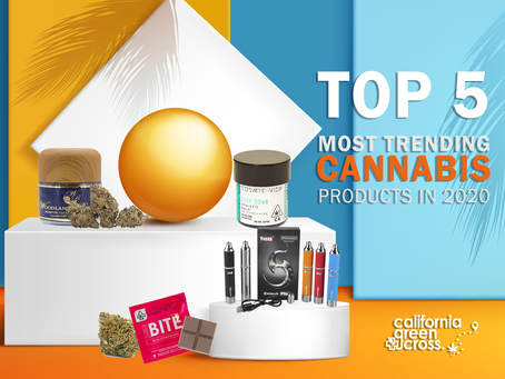 Top 5 most trending cannabis products in 2020