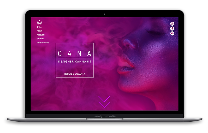 CANA Designer Cannabis and CBD is a luxury cannabis and hemp derived product line featuring dry flower and pre rolled joints. CANA is based out of Humboldt County in the heart of Emerald Triangle. All CANA products consist of unique cannabis and CBD strains with custom genetics focusing on potency and terpene profile to deliver the best effects.
