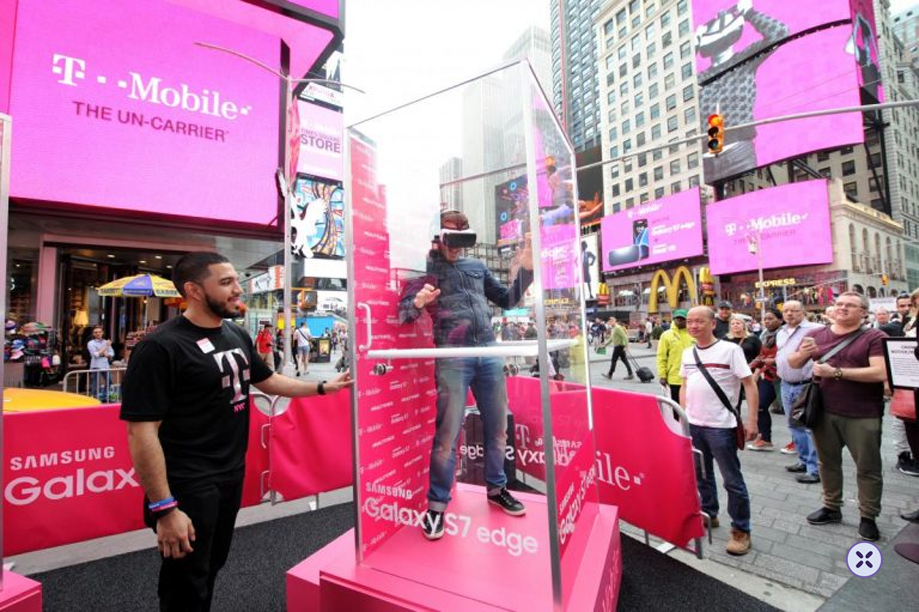Experiential marketing allows you to go beyond digital media and change your strategy's pace. You can reach consumers in the actual world in a creative and appealing manner. This can enable you to produce lasting positive impressions on your customers that can lead to brand loyalty over the long term. Here is a great example of experimental marketing campaign at by T-Mobile.