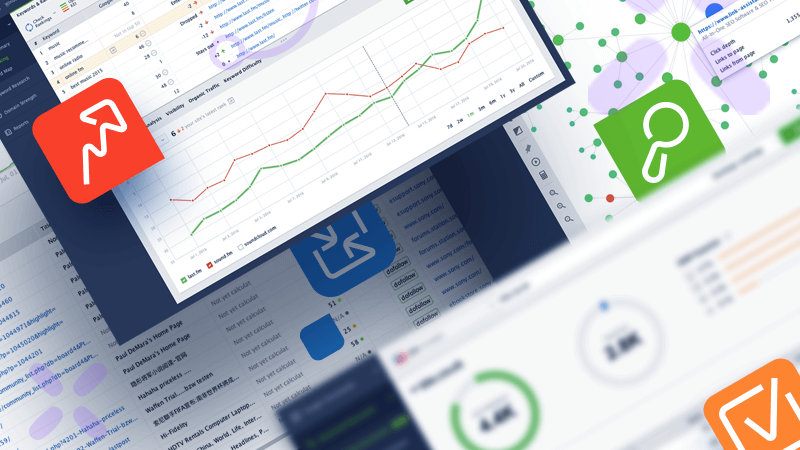 An SEO software tool is a product that assists you to organize, analyze and monitor data about your site's performance in leading search engines. This information can include website speed, backlinks, keyword trends and rankings and more.