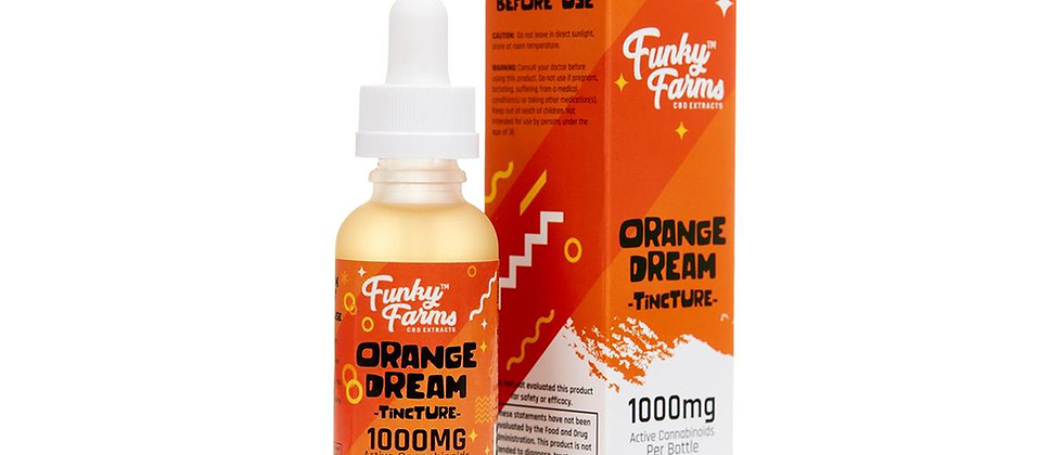 500mg CBD Orange Dream | Funky Farms