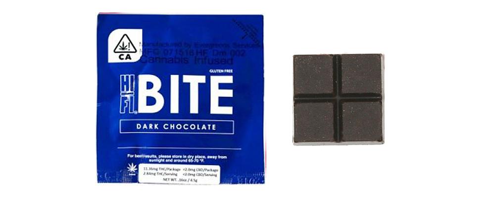 10mg Dark Chocolate Bites | Hifi