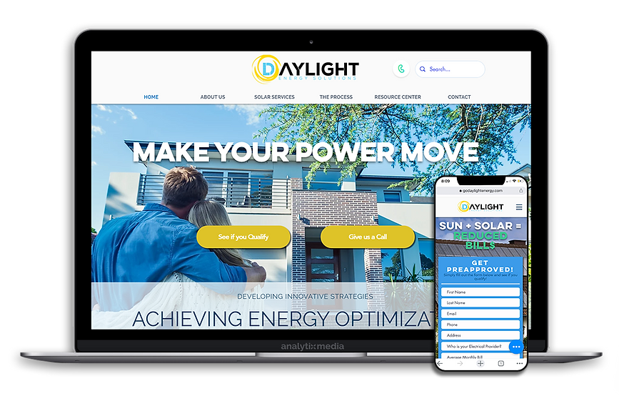Daylight Energy provides customized solar solutions to Californians to help them  save thousands annually on electricity bills. Their Team of seasoned professionals  assess current energy use and recommends the best package for their customers. With no money down options, Daylight Energy can lock in lower rates. Not only will that lower your electricity bill instantly, but overtime it virtually eliminates it. With their in-house installation team, Daylight Energy completes installs quick and easy.