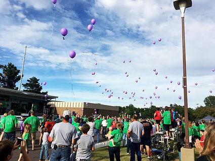 Releasing Balloons