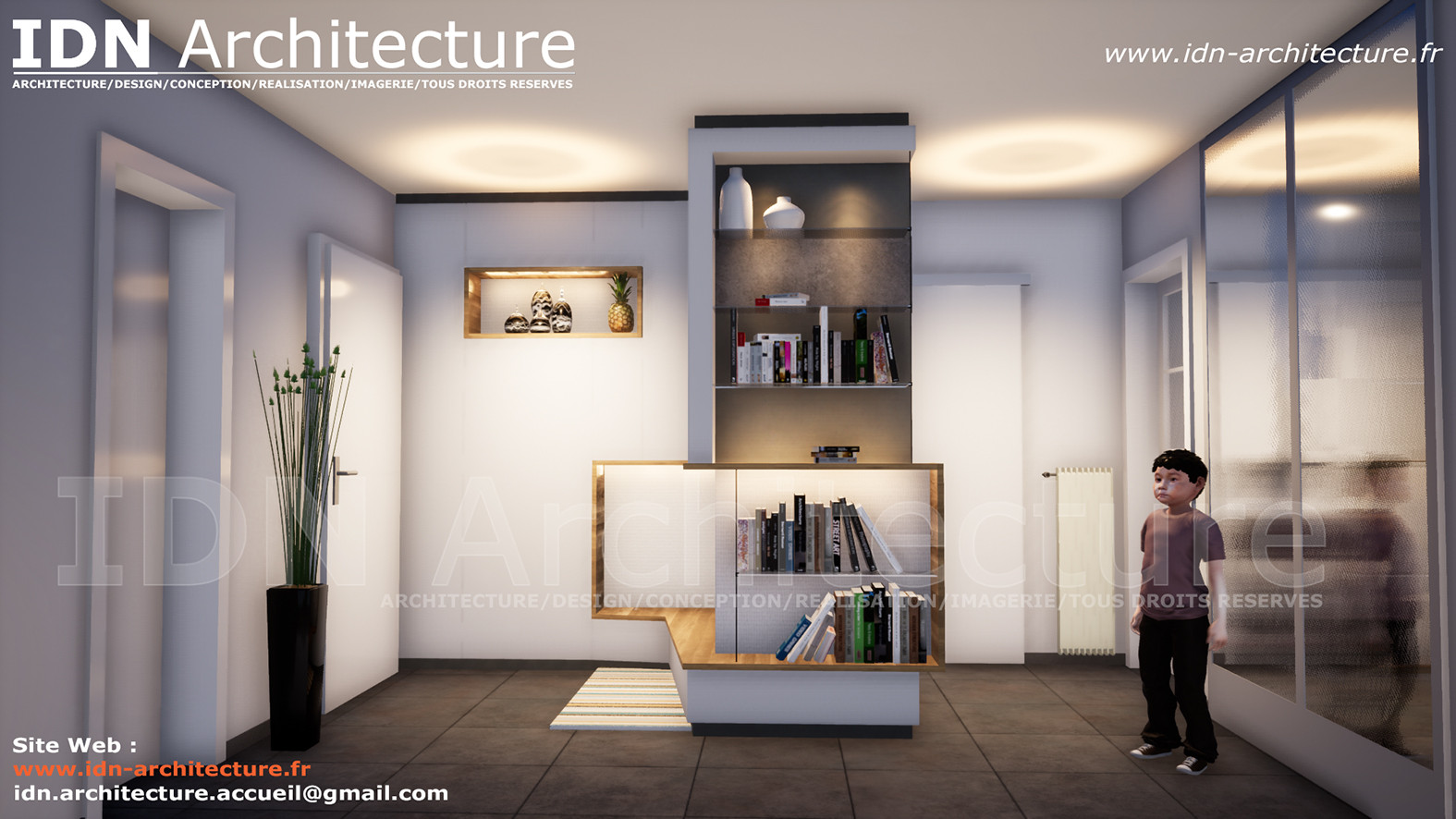 IDN ARCHITECTURE SAS-DESIGN AMENAGEMENT-