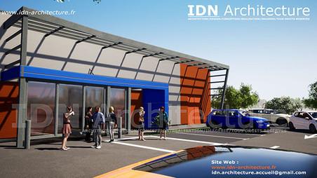 v.commerce WINTZENHEIM-IDN Architecture