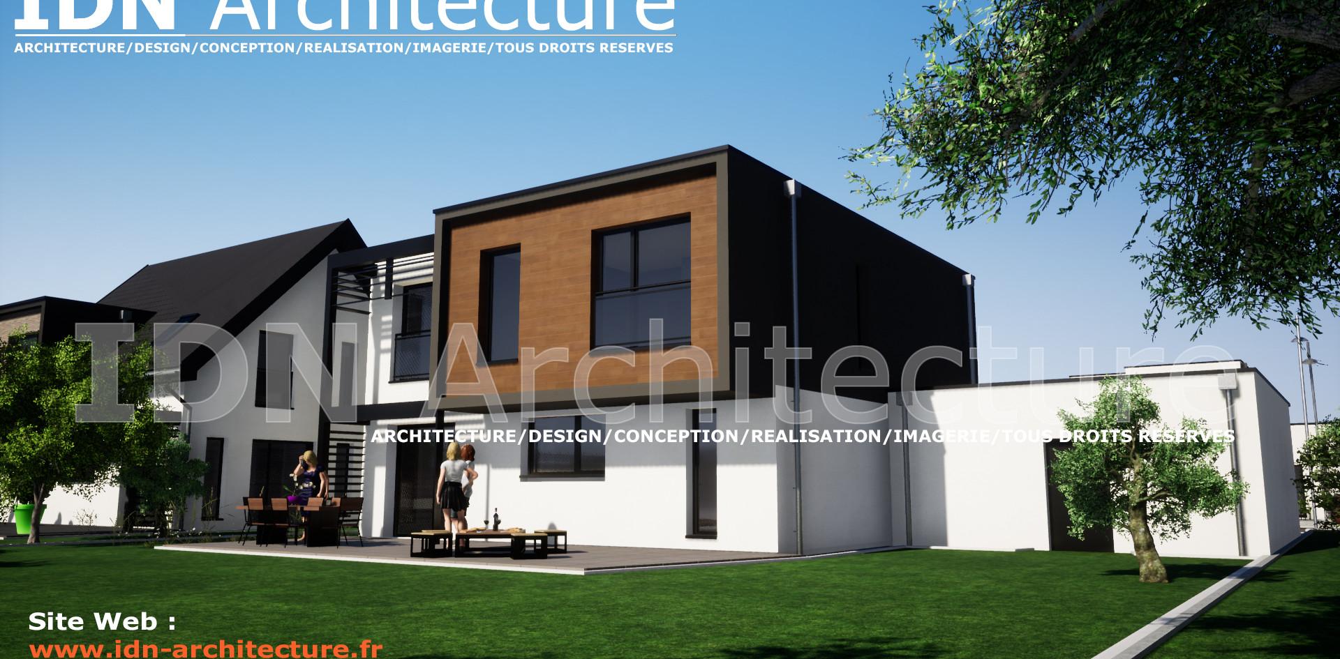 IDN ARCHITECTURE SAS-MAISON INDIVIDUELLE