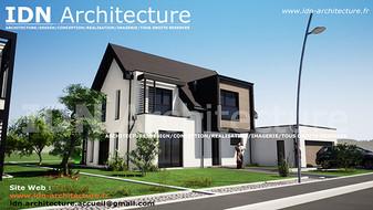 v.maison individuelle-IDN Architecture S