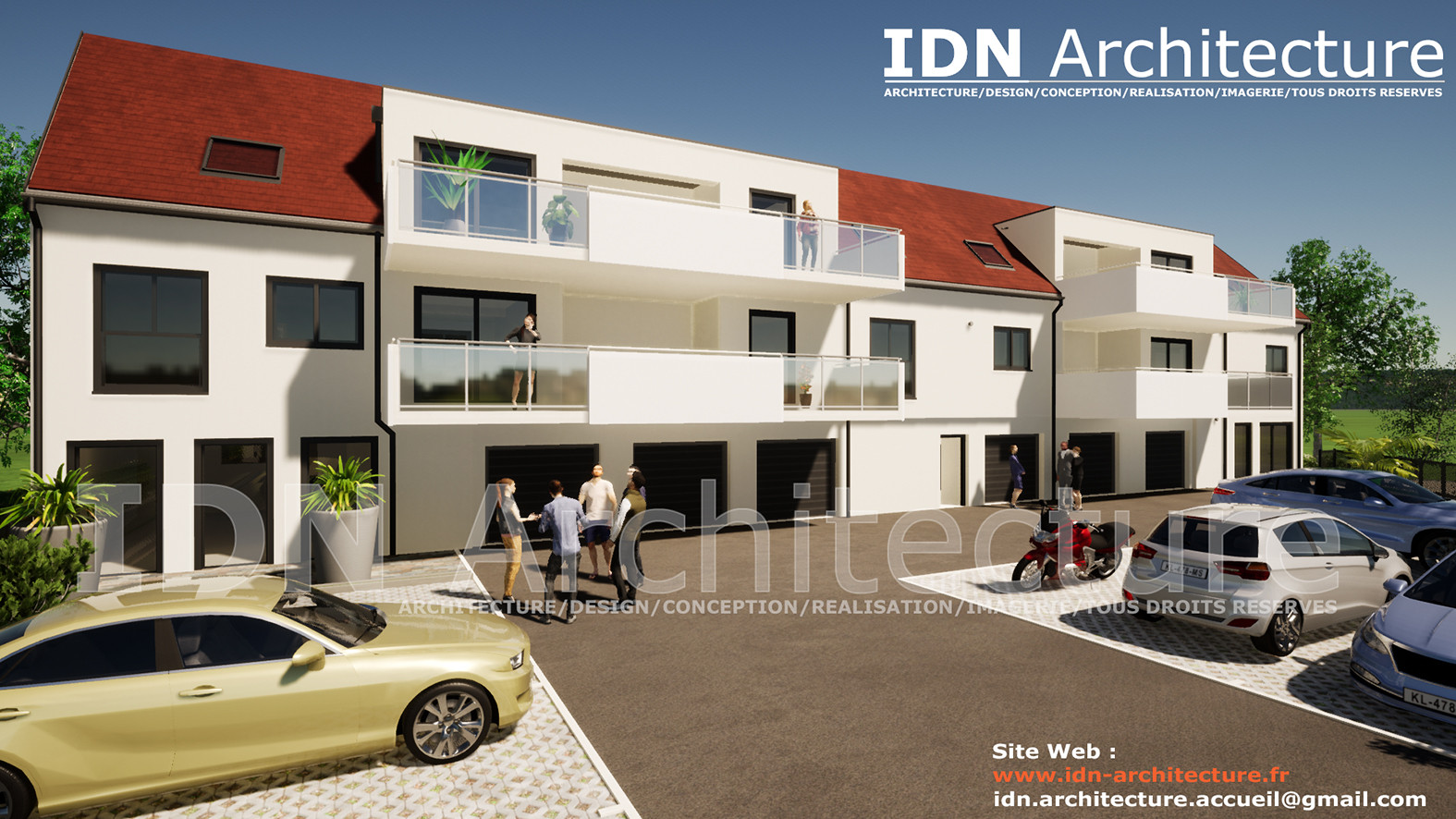 IDN ARCHITECTURE SAS-BATIMENT COLLECTIF-