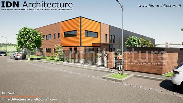 v.batiment industriel 01-IDN Architectur