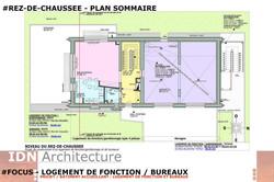 0A-2018.03.20-LOGT DE FONCTION ET BUREAU-RDCH-IDN ARCHITECTURE