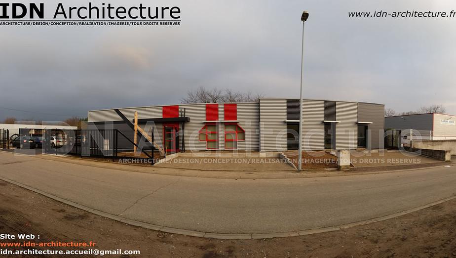 IDN ARCHITECTURE SAS-BATIMENT INDUSTRIEL