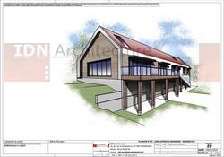 06-PROJET - CONSTRUCTION D'UNE MAISON INDIV. - LALAYE - IDN ARCHITECTURE - 01.01.2016