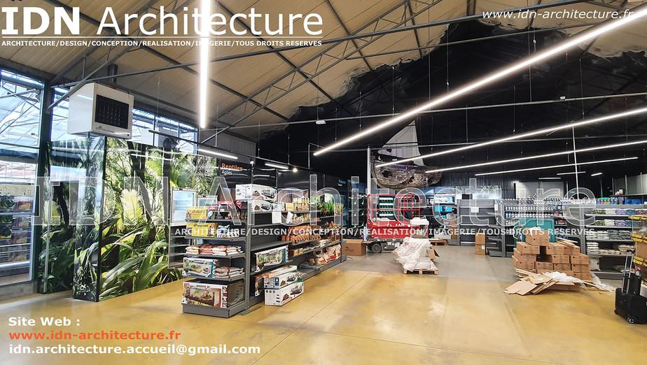 IDN ARCHITECTURE SAS-BATIMENT COMMERCIAL