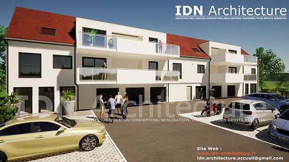 v.batiment collectif 01-IDN Architecture