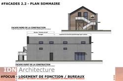 0E-2018.03.20-LOGT DE FONCTION ET BUREAU-FACADES 2.2-IDN ARCHITECTURE