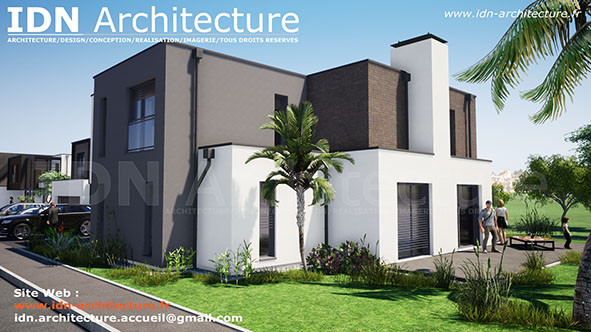 v.maison individuelle-IDN Architecture SAS