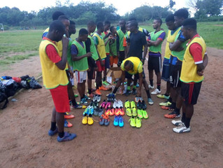 CLEAT FOR FEET LANDS IN NIGERIA