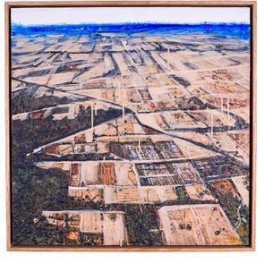 'Promise on The Horizon', 600 x 600 cm $1200