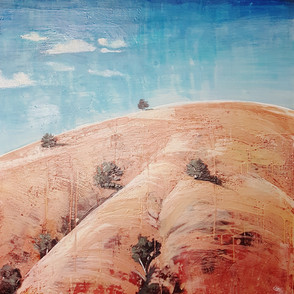 I know That Hill 92 x 92 cm