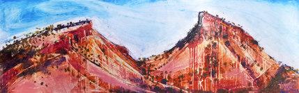 Hillside With Orange Hue (SOLD)
