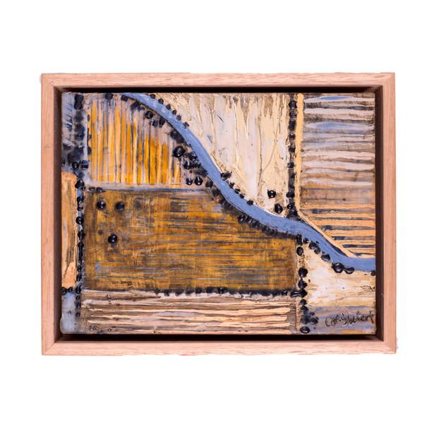 'Stitched Landscape', 12 x 22 cm
