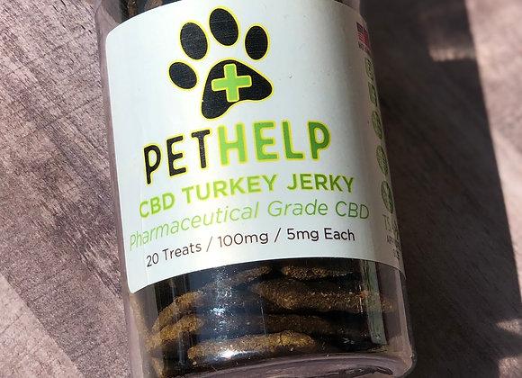 20 Ct. Turkey Jerky 100mg