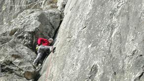 C'est reparti pour la saison de grimpe en falaise !