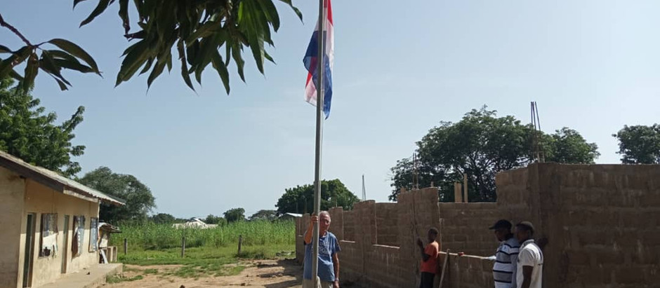 Rapportage 1e maand bouwproject Sandema, incl. foto's