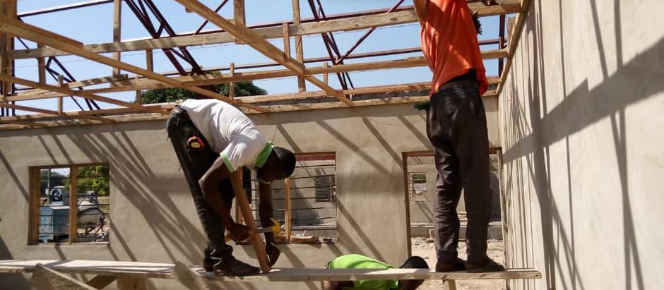 Rapportage 3e maand bouwproject Sandema, incl. foto's.