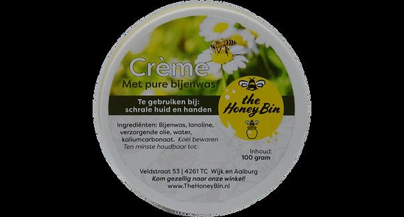 Crème met bijenwas