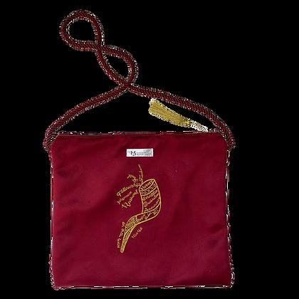 Ramshoorn tas - Scharlaken rood