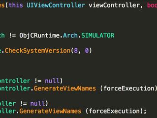 Xamarin.iOS Control ID Generator for Xamarin.UITest
