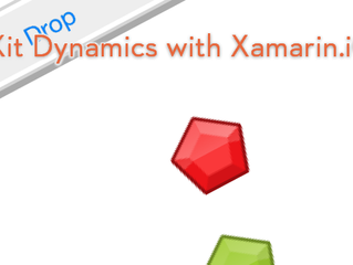 Coin Drop – iOS 7 Dynamic Animation and Behavior Example Using Xamarin.iOS