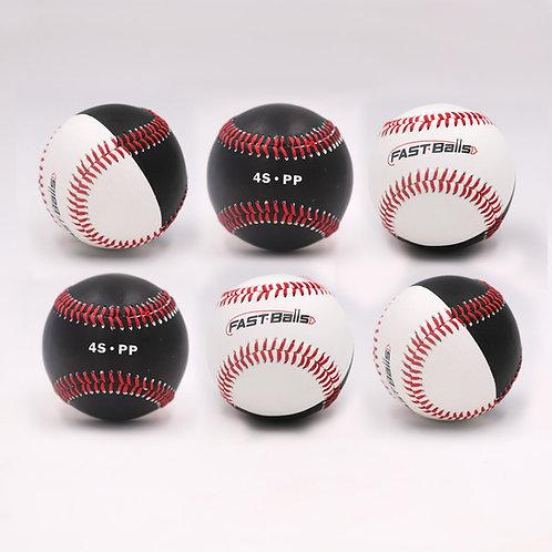 1 Dozen 4S/PP FAST-Balls (4-Seam / Position Player)