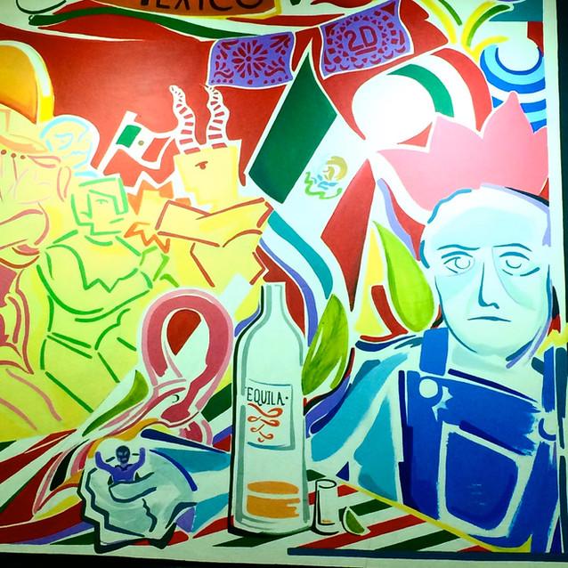 """""""Salón México"""" (detail)"""
