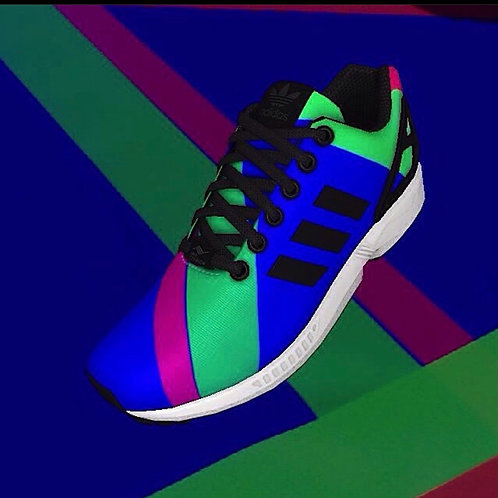 Adidas Flux GB colors Sneakers. M 10 1/2